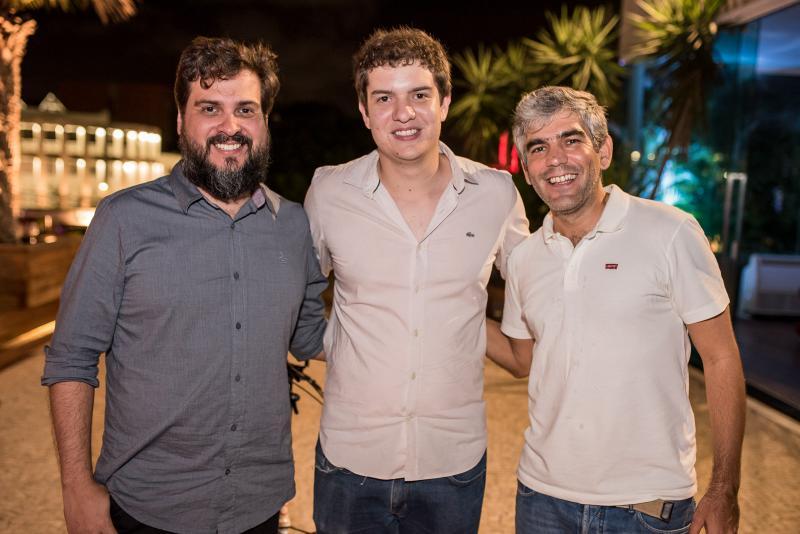 Gustavo Peixoto, Guilherme Colares e Marcio Miranda - Gestores Advance